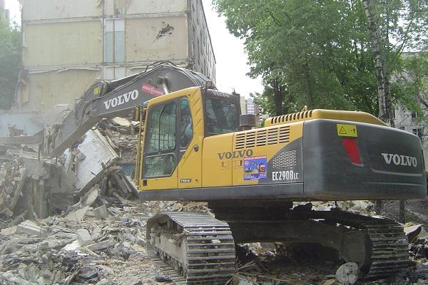 Снос зданий. Демонтаж сооружений