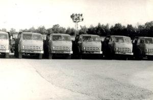 1977 г. Автосамосвалы МАЗ-5549