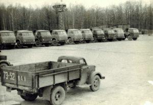 1978 г. Автопарк автобазы №3