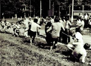 1985 г. п.Северный, соревнования приуроченные к дню празднования дня автомобильного транспорта. Автобаза №3