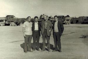 1985 г.Слева нач. автоколонны №2 Горемыкин В.О. Справа нач. автоколонны №4 Зевин А.М.