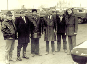 20 апреля 1985 г. Руководство треста Мосинжстрой механизация и руководство автобазы №3 треста МИСМ №2