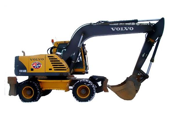 Экскаватор Volvo EC160C