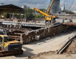 Строительство коллекторных тоннелей щитовым способом