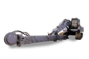 Экскаватор с грейфером. Глубина выемки грунта до 21 метра