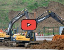 Дорожные работы,  демонтаж зданий, строительство и многое другое -слайд шоу АО Автобаза Ильинское