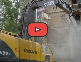 Снос зданий, демонтаж сооружений, видеоролик, АО Автобаза Ильинское